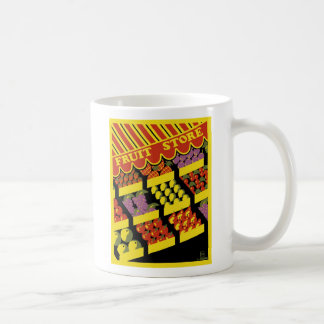 "WPA Posters - ""Fruit Store"" Coffee Mug"