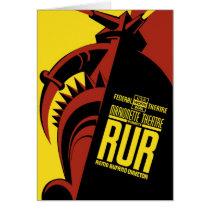 "WPA Posters - ""R.U.R"" Card"
