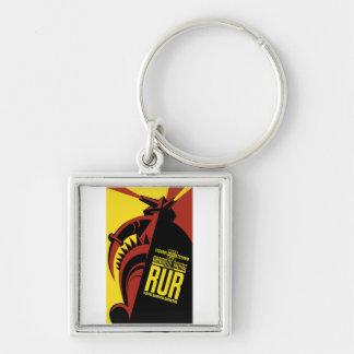 "WPA Posters - ""R.U.R."" Keychain"