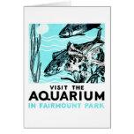 """WPA Posters - """"Visit the Aquarium in Fairmount Par"""