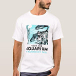"WPA Posters - ""Visit the Aquarium in Fairmount Par T-Shirt"