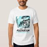 "WPA Posters - ""Visit the Aquarium in Fairmount Par Tee Shirt"