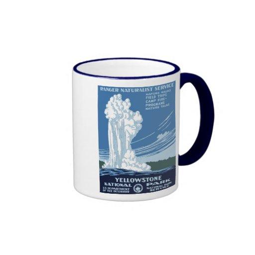"WPA Posters - ""Yellowstone"" Coffee  Mug"