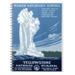"WPA Posters - ""Yellowstone"" Notebook"