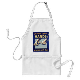 WPA - Protect Your Hands Adult Apron