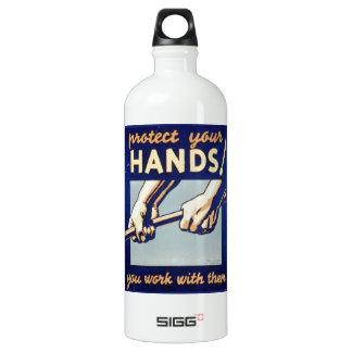 WPA - proteja sus manos