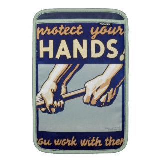 WPA - proteja sus manos Funda MacBook