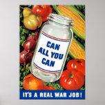 WPA- pueden todos lo que usted puede Poster
