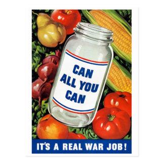 WPA- pueden todos lo que usted puede Postal