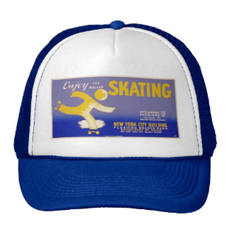 WPA Skating Trucker Hat
