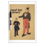 WPA Vintage Dry Erase Whiteboard