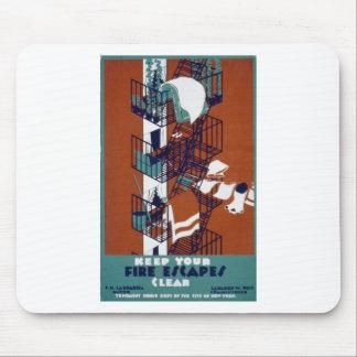 WPA Vintage Mouse Pad
