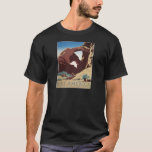WPA Vintage Travel Poster See America Arches T-Shirt