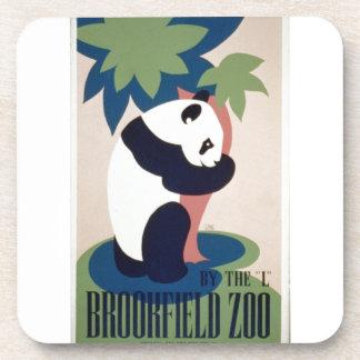 WPA Vintage - Zoo Coaster