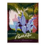 WPA - Visit Puerto Rico Postcard