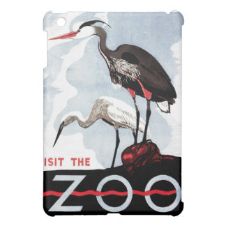 "WPA - ""Visit the Zoo"" iPad Case"