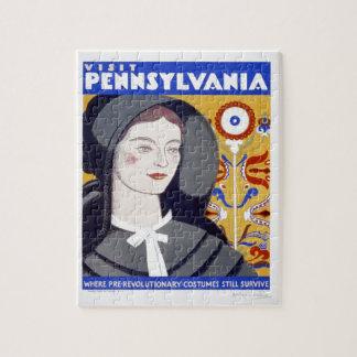WPA - visita Pennsylvania Rompecabeza Con Fotos