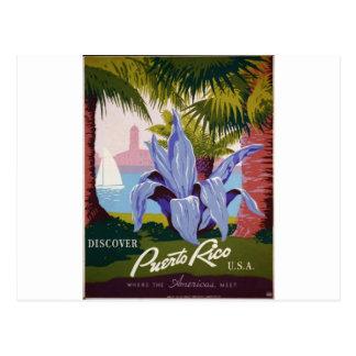 WPA - visita Puerto Rico Tarjetas Postales