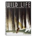 "WPA - ""Wild Life"" Notebook"