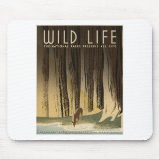 WPA - Wildlife Mouse Pad