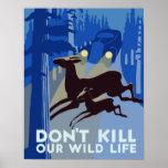 WPA Wildlife Poster