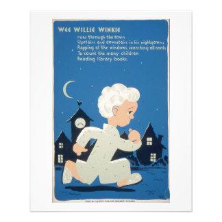 WPA - Willie pequenito Winkie Tarjetones