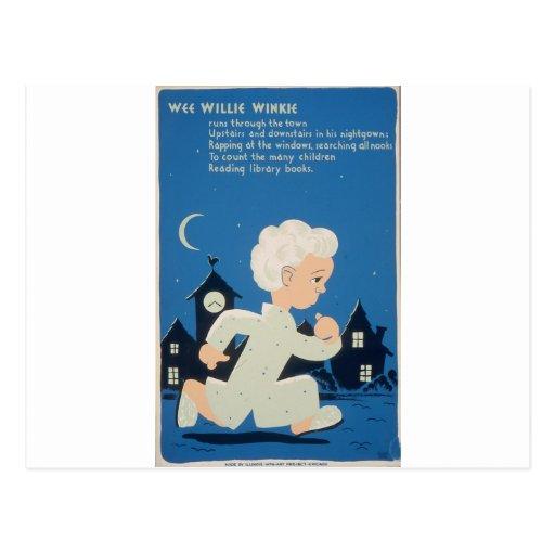 WPA - Willie pequenito Winkie Postal