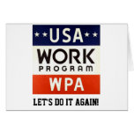 WPA Works Progrerss Admin. LET'S DO IT AGAIN!