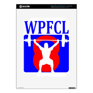 WPFCL Logo Wear Skin For iPad 3