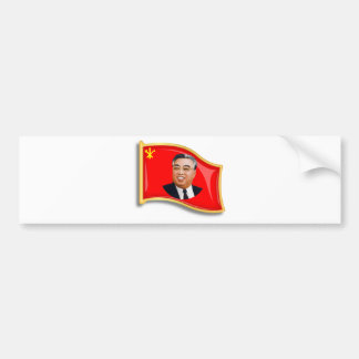 WPK Flag Bumper Sticker