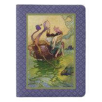 WQ CUSTOM NOTEBOOK: Maiden on Seashell Boat Extra Large Moleskine Notebook