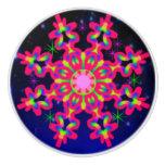 WQ Kaleidoscope Ceramic Knob RED PINK LOVERS
