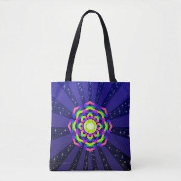 WQ Kaleidoscope Tote Bag Burst Series No. 5