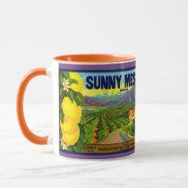 WQ MUG CUP :Lemon Crate Label