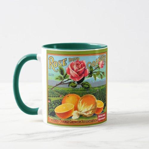 WQ MUG CUP : Orange Crate Label 3