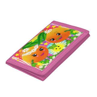 WQ Toys Kawaii Oranges Couple Wallet