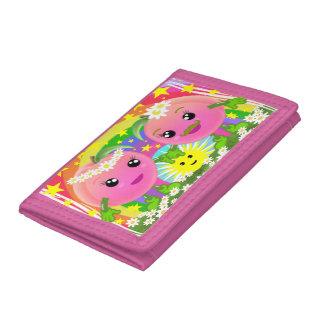 WQ Toys Kawaii Peaches Couple Wallet