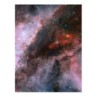 WR 22 y regiones de Eta Carinae de la nebulosa de Postal