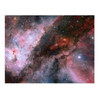 WR 22 y regiones de Eta Carinae de la nebulosa de Tarjeta Postal