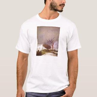 Wrack im Eismeer T-Shirt