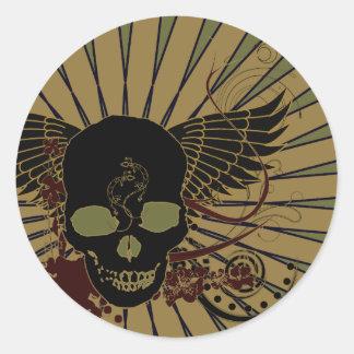Wraith Round Stickers