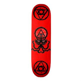 Wraithe Alchemy Eye Haphzibah Airbrush Art Skateboard Deck