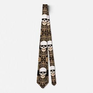 Wraithe Gentlemen's Soul Reaper Gothic Silk Tie