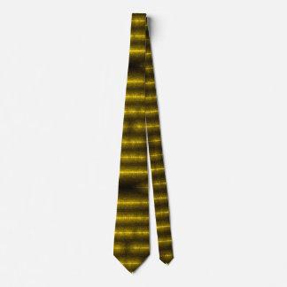 Wraithe Gold Demonolatry Luxury Silk Tie