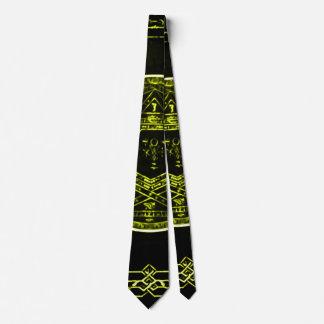 Wraithe King Solomon's Holy Circle Silk Power Tie
