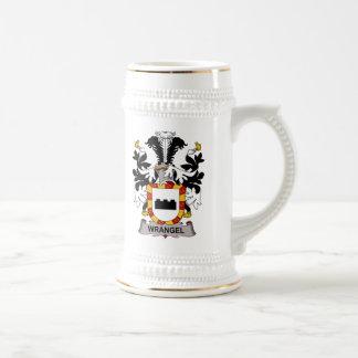 Wrangel Family Crest 18 Oz Beer Stein