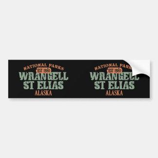 Wrangell St Elias National Park Bumper Sticker