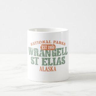 Wrangell St Elias National Park Classic White Coffee Mug