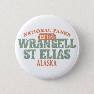 Wrangell St Elias National Park Pinback Button