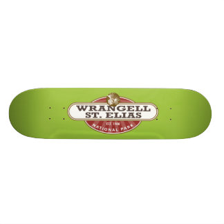 Wrangell St. Elias National Park Skateboard Deck